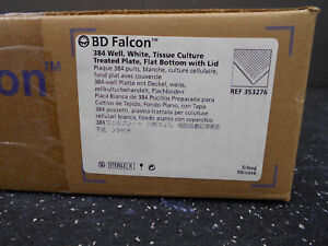 Bd Falcon 353276 Sterile 384 Well Tissue Culture Treated Flat Bottom W Lid 50 c