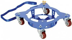 150 Lb Capacity Multi pail Dolly With Pull Strap Move 5 Gal Cans Easily