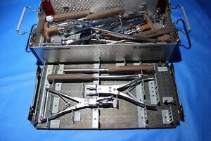 Synthes Surgical Universal Spine Set Misc Instruments See Photos