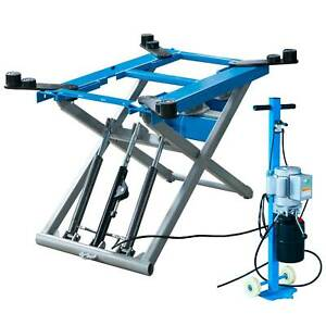 6200 Lb Scissor Automotive Lift Hydraulic Movable Lift 110 Volt