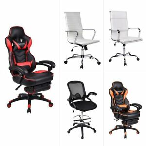 Racing Video Gaming Chair High Back Ergonomic Computer Office Desk Seat Leather