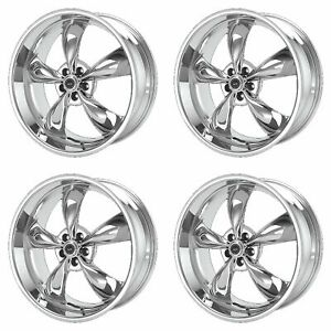 4x American Racing 17x9 Ar605 Torq Thrust M Wheels Chrome 5x4 75 5x120 65 45mm