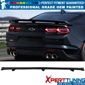 Fits 16 19 Chevy Camaro Zl1 Style Trunk Spoiler Wing Oem Painted Color