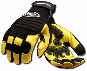 Ansell Projex 97 977 Heavy Duty Leather Work Glove Xx large Pack Of 1 Pair