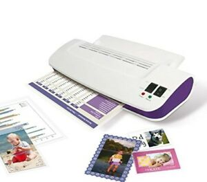 Thermal Laminator Machine Hot And Cold With 100 Pack Laminating Pouches Sheets