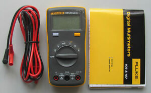 New Fluke 106 F106 Palm sized Digital Multimeter Meter Smaller Than Fluke 15b