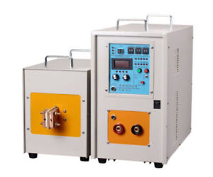 40kw 30 80khz High Frequency Induction Heater Furnace Zn 40ab