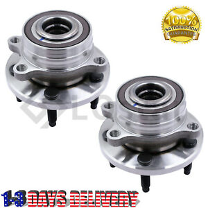 Pair 2 Front rear Wheel Hub Bearing Assembly Fits 11 16 Ford Explorer