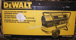 Dewalt Dxh190hd 190 000 Btu hr Forced Air Kerosene Heater local Pickup 11073