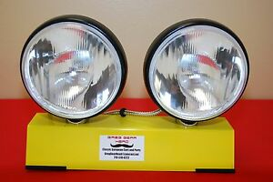 Replica Cibie Oscar Plus Driving Lights Large 8 Round Pair