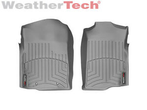 Weathertech Floorliner Floor Mats For Tahoe suburban yukon 1st Row Grey
