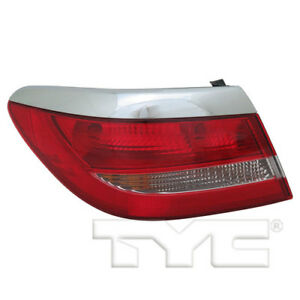 Tail Light Assembly Lh Drive Outer Fits 12 17 Buick Verano 11 6440 00 1 Tyc