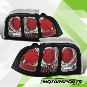 1994 1998 Ford Mustang Gt Factory Style Chrome Tail Lights Pair 1995 1996 1997