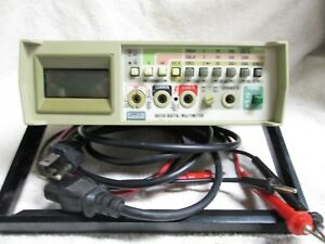 Fluke Model 8012a Digital Multimeter