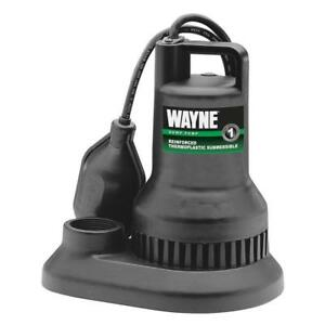 Wayne 57639 wyn1 3 10hp Reinforced Thermoplastic Submersible Sump Pump