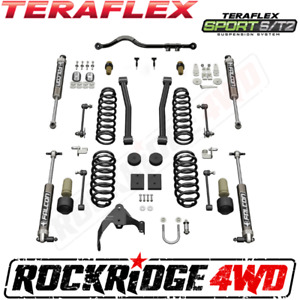 Teraflex 07 18 Jeep Wrangler Jk 4 Door Sport St2 Suspension Lift W 2 1 Falcons