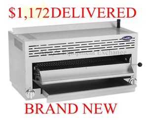 36 3 Foot Wide Salamander Broiler Cheese Melter Ceramic Infrared Over Range