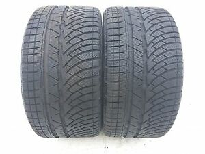2 New 19 19 Inch Michelin Pilot Alpin Tire 285 30 19 2853019 Set Of 2 Tires
