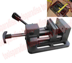 Precision Small 3 Jaw Drill Press Vise 1in Throat Depth Quick Release Vice