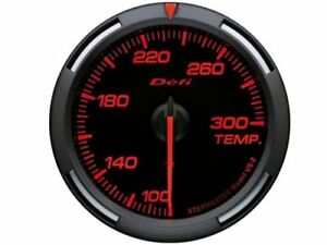Defi Df06702 Red Racer Gauge 52mm Water Oil Temperature