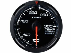 Defi Df06703 White Racer Gauge 52mm Water Oil Temperature Temp
