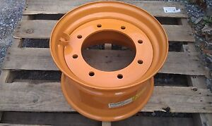 New 16 5x9 75x8 Rim For 4x4 Case 580 Backhoe Super M L 4wd 119243a1