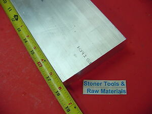 2 Pieces 1 1 2 x 4 Aluminum 6061 Flat Bar 18 Long T6511 Solid Plate Mill Stock