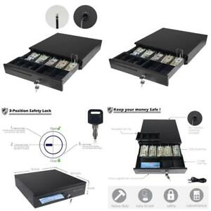 Cash Drawer Tray Insert Under For Safe Money With Key Square Adesso Box Cable