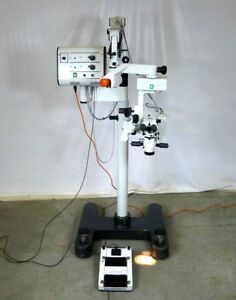 Leica Wild Heerbrugg M690 Surgical Microscope W 10445600 Foot Pedal Medical