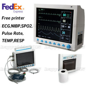 Us Ship patient Monitor Multi parameter Vital Signs Icu Machine thermal Printer