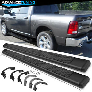 Fits 09 18 Dodge Ram Crew Cab 82inch Ram Oe Style Nerf Bars Running Boards Black