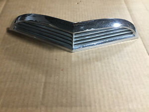 1955 1957 Ford Thunderbird Original Chrome Hood Scoop Cowl Grille B5s 16607 a