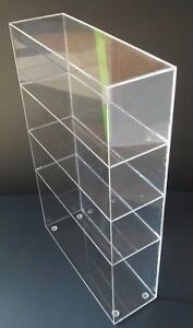 Acrylic Cabinet Counter Top Display Showcase Box 12 x12 x19 Display Box Acrylic