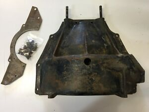 1946 1947 Chrysler Desoto Fluid Drive Lower Cast Bell Housing W Inspection Pl
