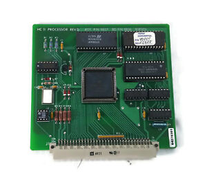 Thermo Environmental Hc 11 Processor Rev D Asy 9837 Bd Pn 9836 93p305