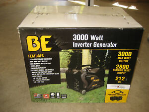 Be 3000 Watt Inverter Generator