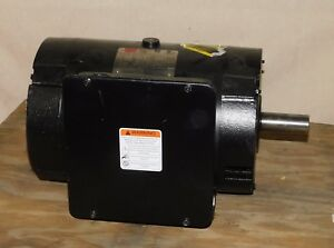 Dayton 4fn97 Commercial Duty Air Compressor Motor 7 1 2 Hp 3500 Rpm 230 V