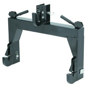 3 point Quick Hitch By tmn Farming Tractor Up To 45 Hp Four Position Draw Pin