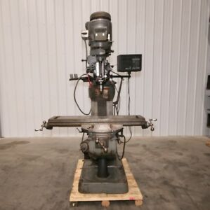 12483 Bridgeport Series I Vertical Mill 9 X 42 Table