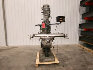 12485 Bridgeport Series I Vertical Mill 9 X 42 Table