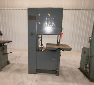 12136 Grob 24 Vertical Bandsaw Model Ns 24