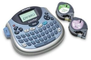 Dymo Letratag Lt 100t Plus Compact Portable Label Maker With Qwerty Keyboard