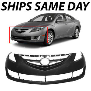 New Primered Front Bumper Cover Fascia Direct Fit For 2009 2013 Mazda 6 09 13