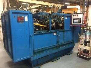 Hause Holomatic 8 Head Boring Drilling And Tapping Machine W Ab Plc Tooling