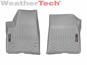 Weathertech Floorliner Floor Mats For Gmc Acadia 2017 2019 1st Row Grey