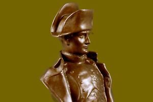 Hand Made Napoleon Original Signed Bronze Sculpture Museum Quality Marble Base
