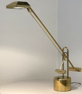 Vintage Mid Century Modern Counter Weighted Adjustable Desk Lamp Architectural