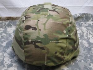 ARMY OCP MULTICAM ACH MICH MADE W KEVLAR HELMET COVER ONE SIZE FITS MOST $24.95