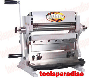 Auto Body 12 Sheet Metal Roller Bender Bend Roll Shear 3in1 Brake Tool Machine
