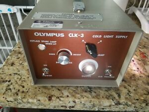 Olympus Clk 3 Cold Light Supply light Source 151428